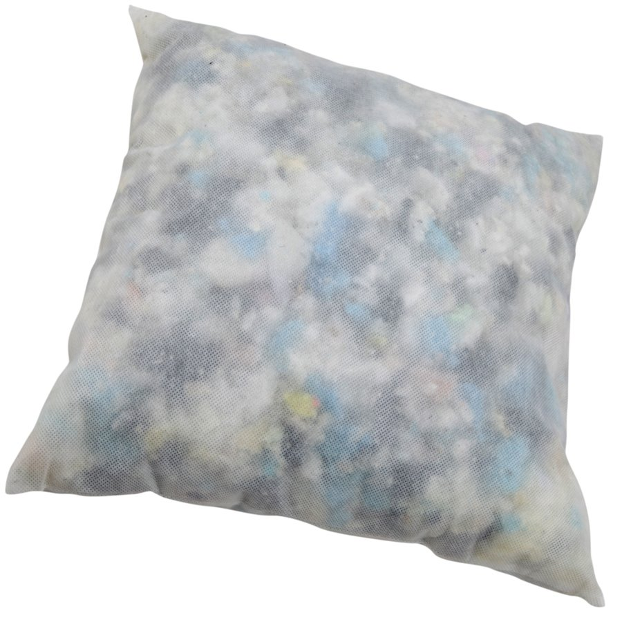 Pillows filled with flakes
